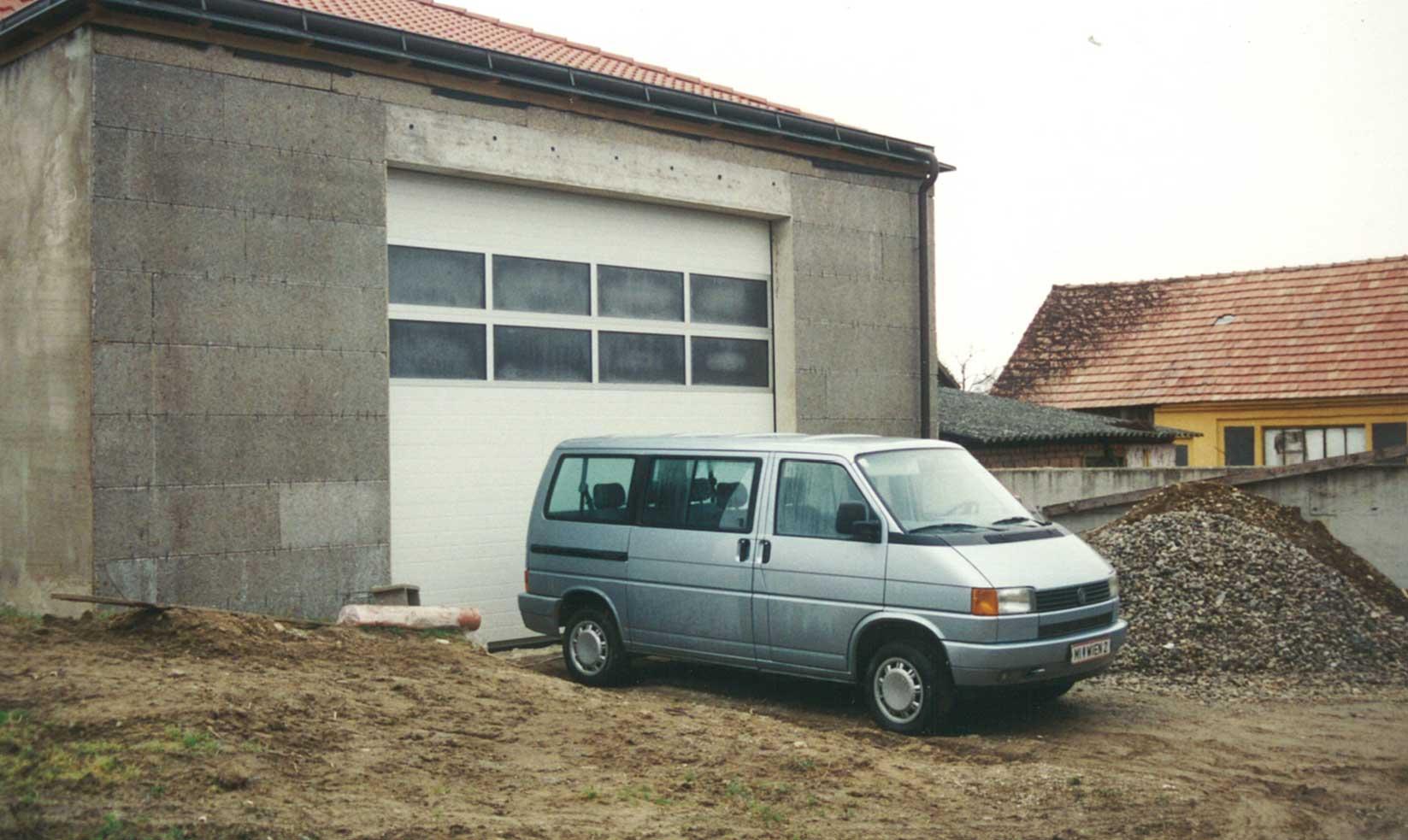 erste Halle in Streifing